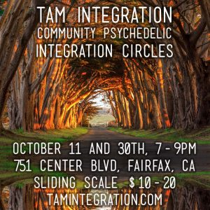october psychedelic integration circle