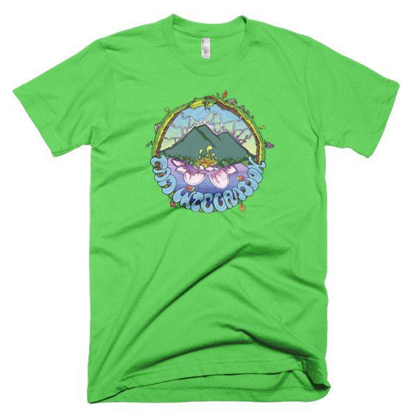 Friendy Ouroboros Men's Teebright green