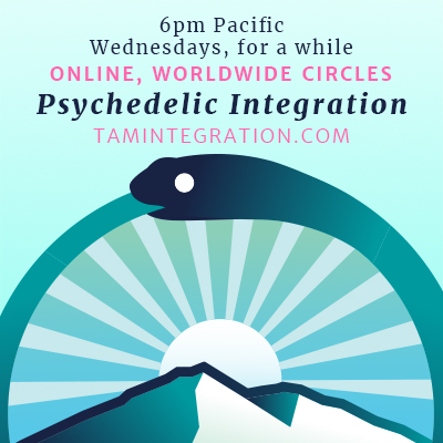 ONLINE – March Psychedelic Integration Circle in San Francisco