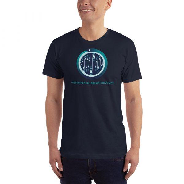 instrumental breakthroughs t-shirt navy