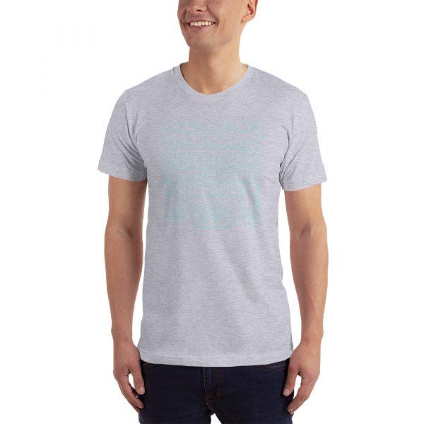 jersey t shirt heather grey
