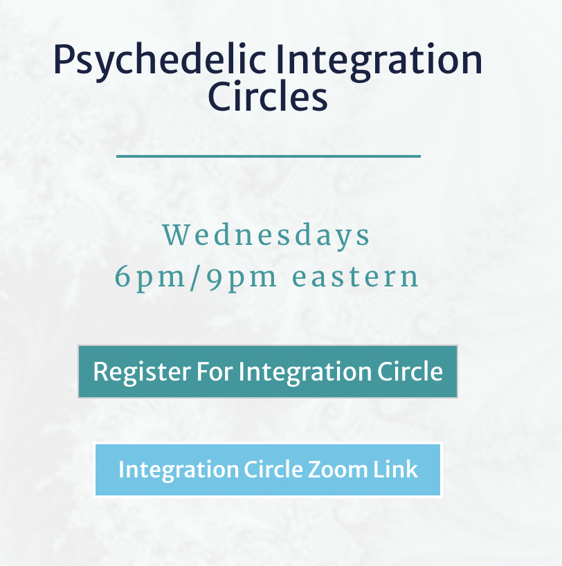 Psychedelic Integration Circles